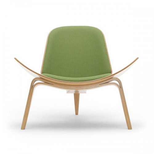 Carl Hansen CH07 Shell Lounge Chair vel accum...
