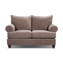 Paige Microsuede Full Size Sofa Bed Grey