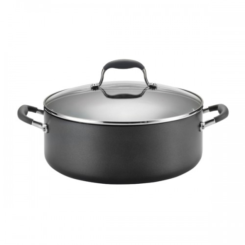 Anolon Hard anodized 7.5qt Covered Wide Stock...