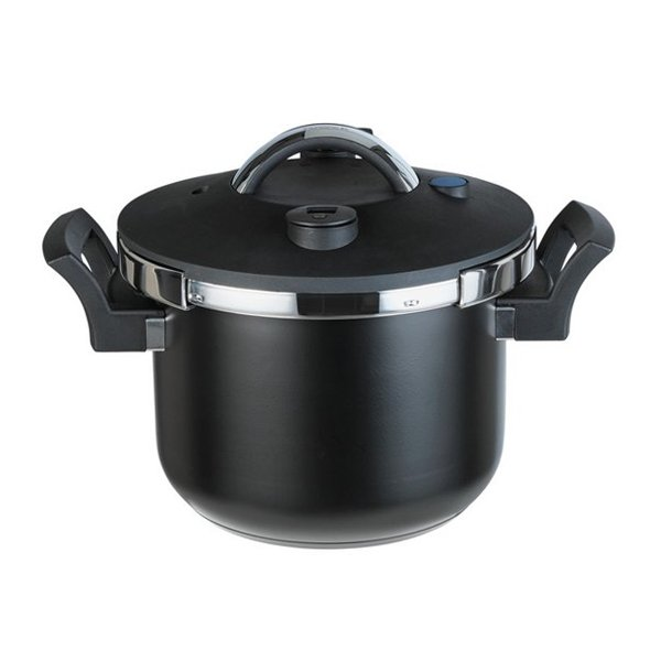 Tower Pressure Cooker with Steamer Basket