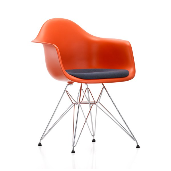 Puoly and Bark Eames Style Molded Plastic